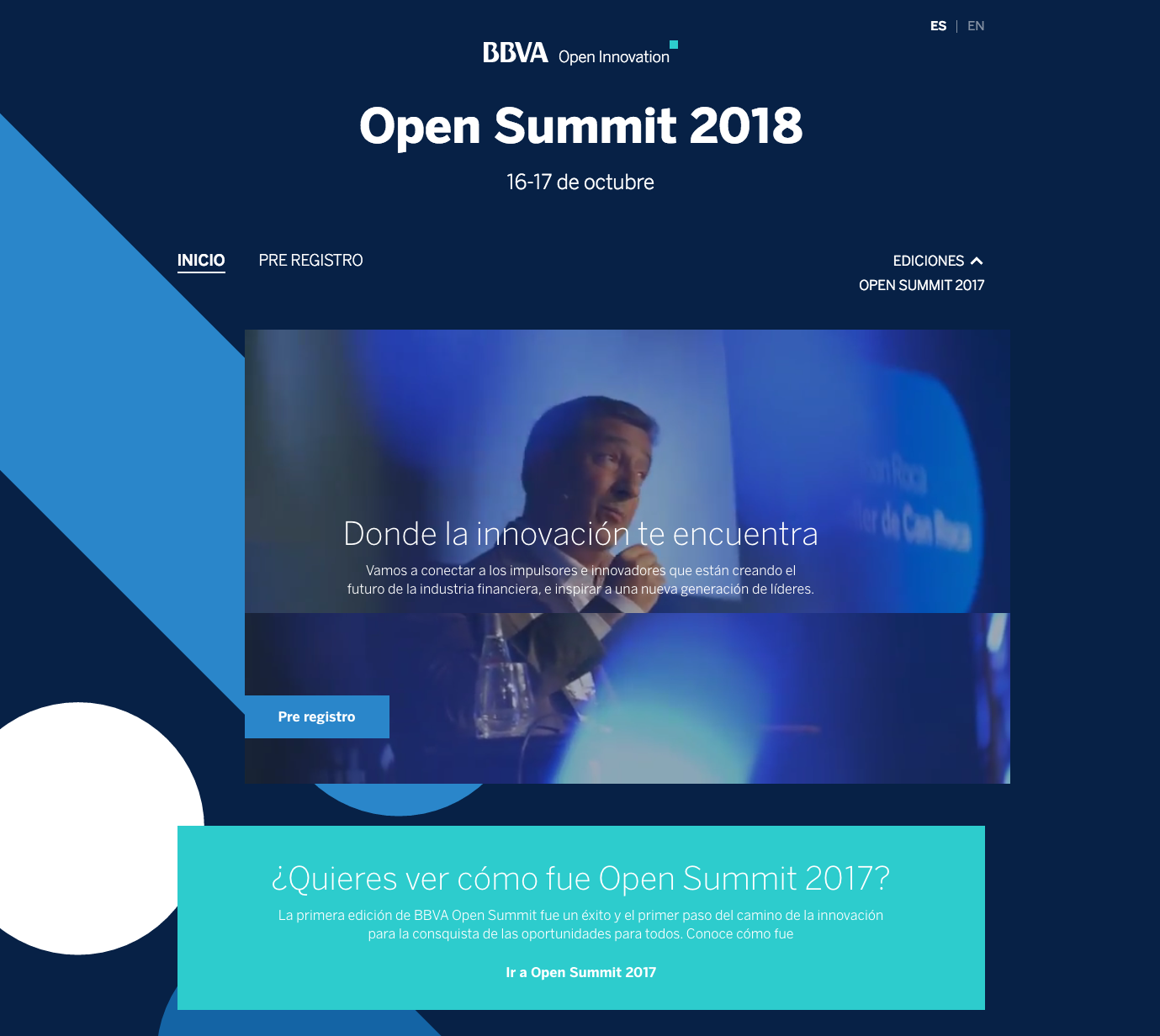 Open Summit 2018 16 17 de octubre Open Summit 2017