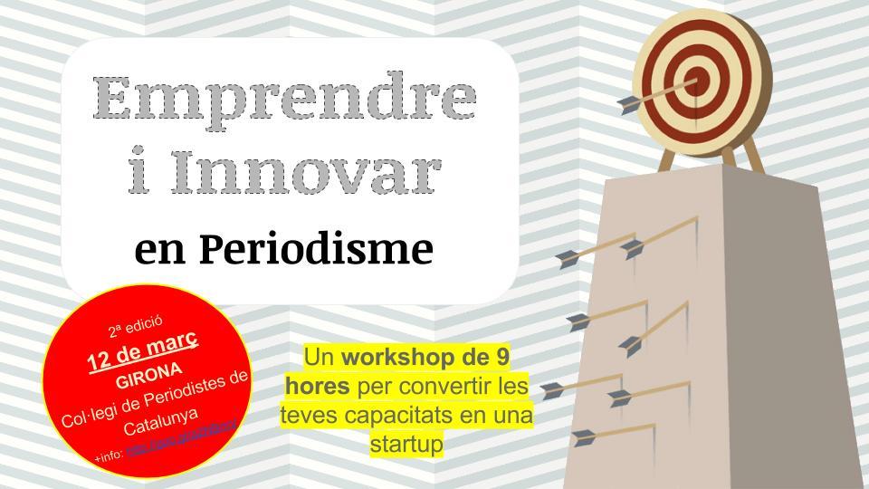 Workshop Emprender e Innovar en Periodismo