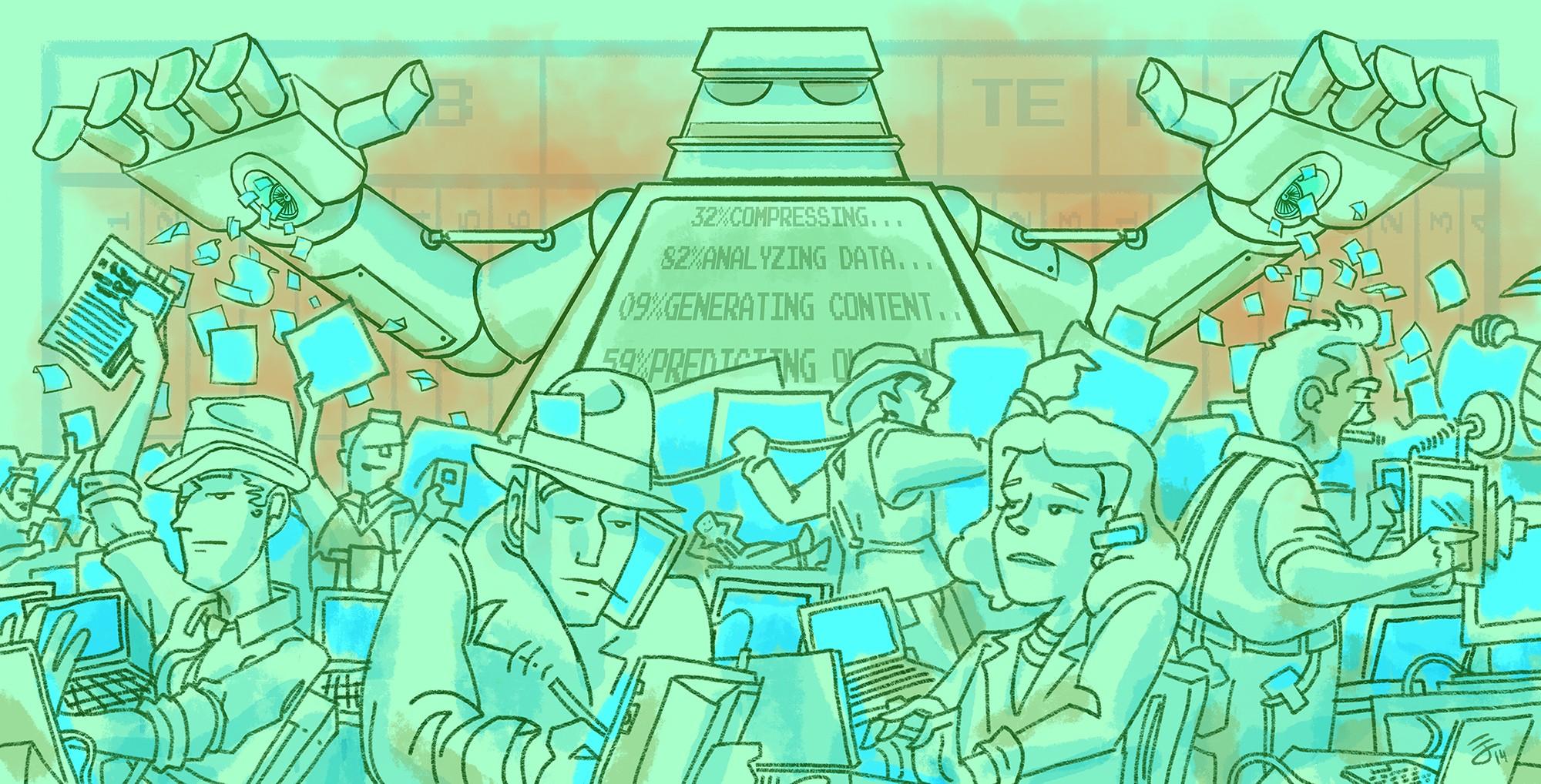 Los bots en el periodismo y la distribución de contenidos digitales
